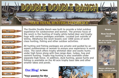 World Class White Tail Deer Hunting Oklahoma