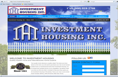 Investment Housing Inc.